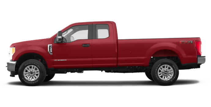 2017 Ford Super Duty F-350 XLT   Photo 4   Ruby Red