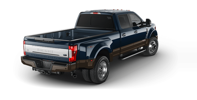 2017 Ford Super Duty F-450 KING RANCH | Photo 5 | Blue Jeans Metallic/Caribou