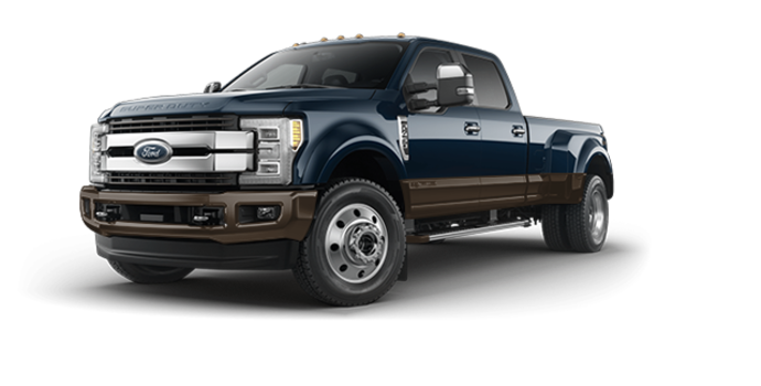 2017 Ford Super Duty F-450 KING RANCH | Photo 6 | Blue Jeans Metallic/Caribou
