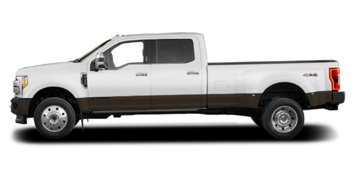 2017 Ford Super Duty F-450 KING RANCH | Photo 4 | Oxford White/Caribou