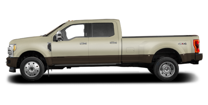 2017 Ford Super Duty F-450 KING RANCH | Photo 4 | White Gold Metallic/Caribou