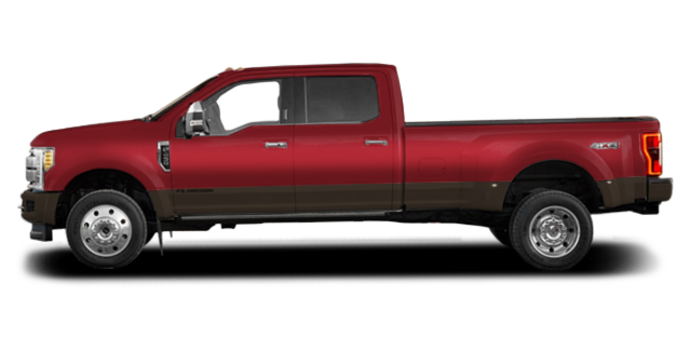2017 Ford Super Duty F-450 KING RANCH | Photo 4 | Ruby Red/Caribou