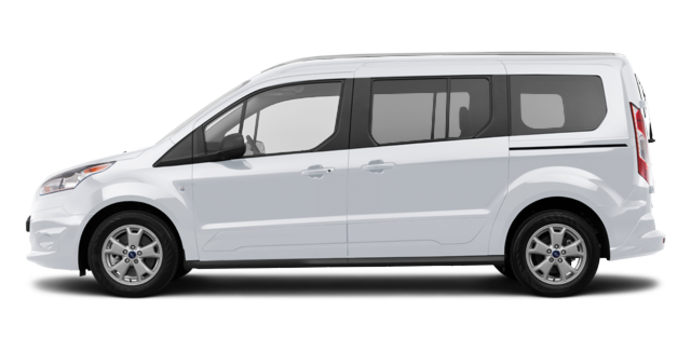 2017 Ford Transit Connect XLT WAGON | Photo 4 | Frozen White