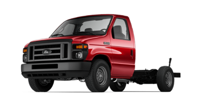 2017 Ford E-Series Cutaway 350 | Photo 4 | Race Red