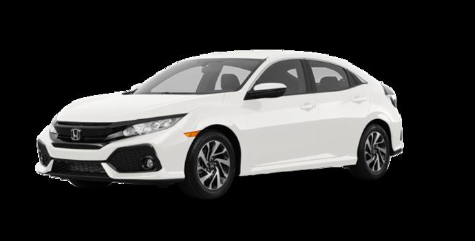 2017 Honda Civic hatchback LX HONDA SENSING | Photo 6 | White Orchid Pearl