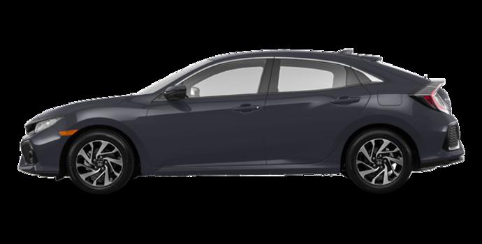 2017 Honda Civic hatchback LX   Photo 4   Polished Metal Metallic