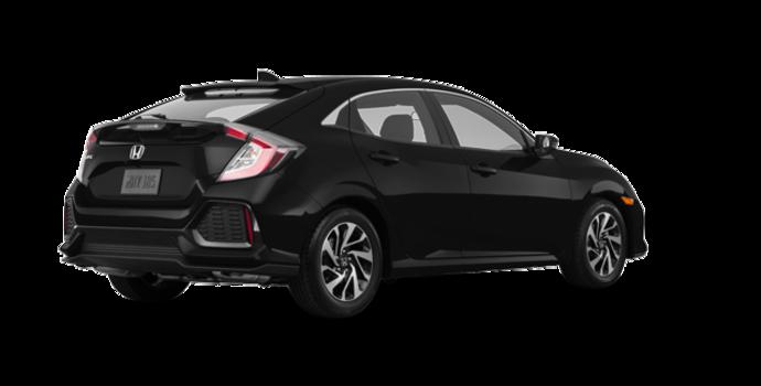 2017 Honda Civic hatchback LX   Photo 5   Crystal Black Pearl