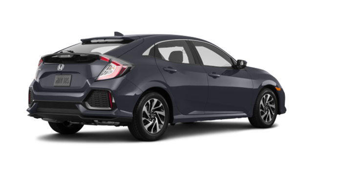 2017 Honda Civic hatchback LX   Photo 5   Polished Metal Metallic