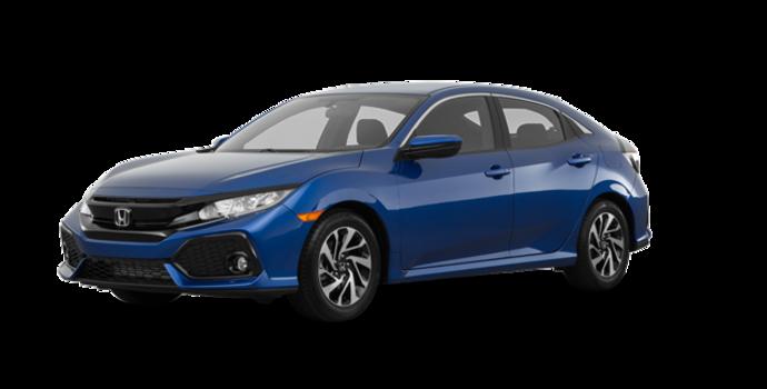 2017 Honda Civic hatchback LX | Photo 6 | Aegean Blue Metallic