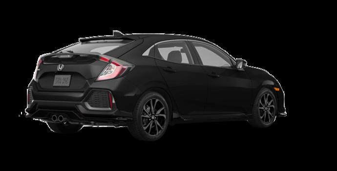 2017 Honda Civic hatchback SPORT   Photo 5   Crystal Black Pearl