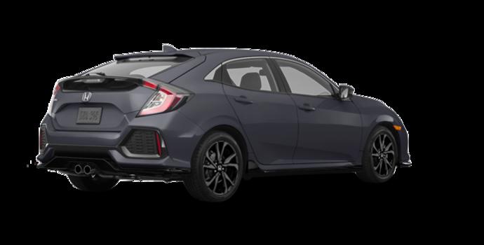 2017 Honda Civic hatchback SPORT   Photo 5   Polished Metal Metallic