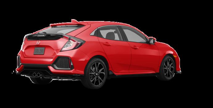 2017 Honda Civic hatchback SPORT   Photo 5   Rallye Red