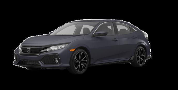 2017 Honda Civic hatchback SPORT   Photo 6   Polished Metal Metallic
