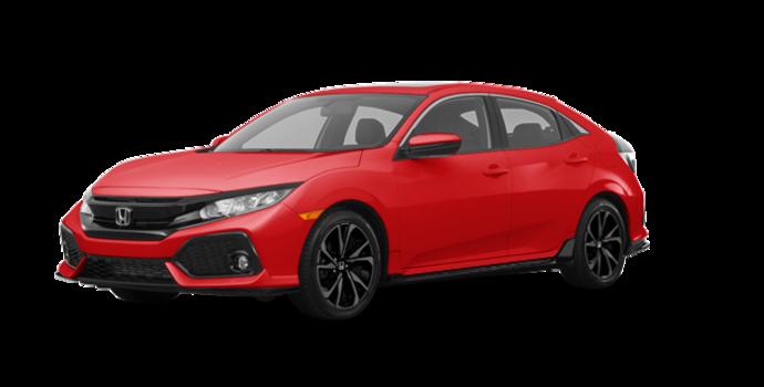 2017 Honda Civic hatchback SPORT   Photo 6   Rallye Red