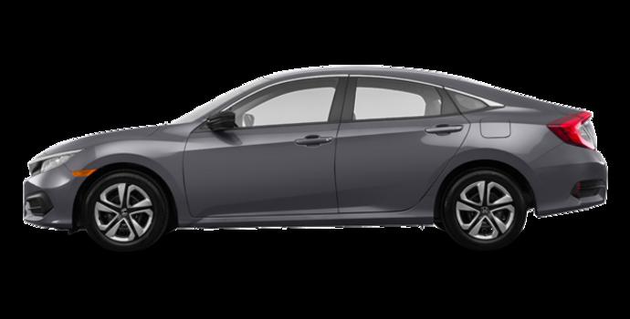 2017 Honda Civic Sedan DX | Photo 4 | Modern Steel Metallic