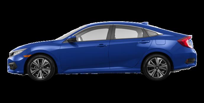 2017 Honda Civic Sedan EX-T | Photo 4 | Aegean Blue Metallic