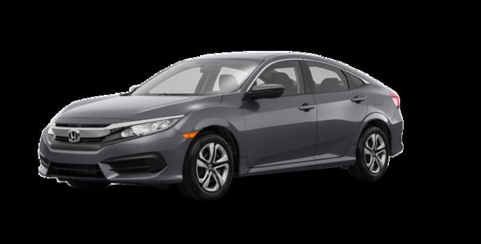 2017 Honda Civic Sedan LX-HONDA SENSING | Photo 6 | Modern Steel Metallic