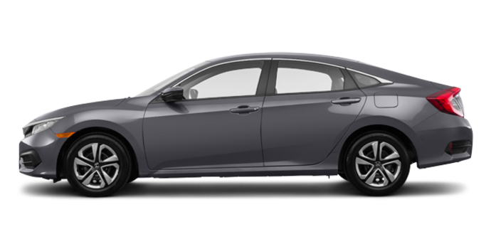 2017 Honda Civic Sedan LX | Photo 4 | Modern Steel Metallic