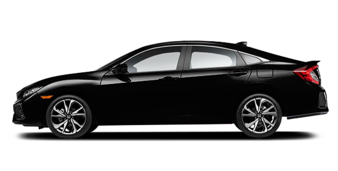 2017 Honda Civic Sedan SI | Photo 4 | Crystal Black Pearl