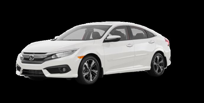 2017 Honda Civic Sedan TOURING | Photo 6 | White Orchid Pearl