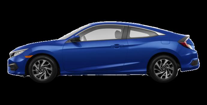 2017 Honda Civic Coupe LX-HONDA SENSING | Photo 4 | Aegean Blue Metallic