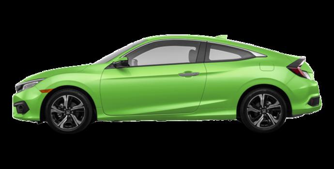 2017 Honda Civic Coupe TOURING | Photo 4 | Energy Green Pearl
