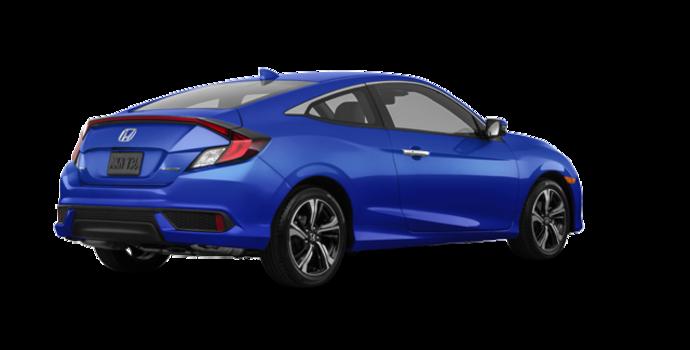 2017 Honda Civic Coupe TOURING | Photo 5 | Aegean Blue Metallic