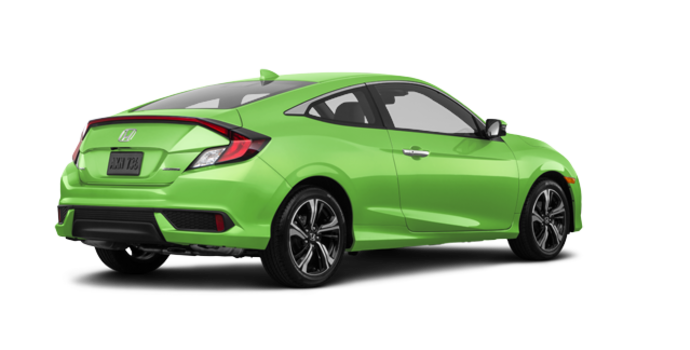 2017 Honda Civic Coupe TOURING | Photo 5 | Energy Green Pearl