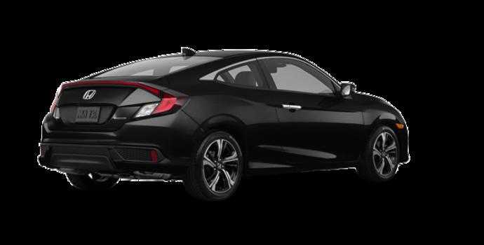 2017 Honda Civic Coupe TOURING | Photo 5 | Crystal Black Pearl