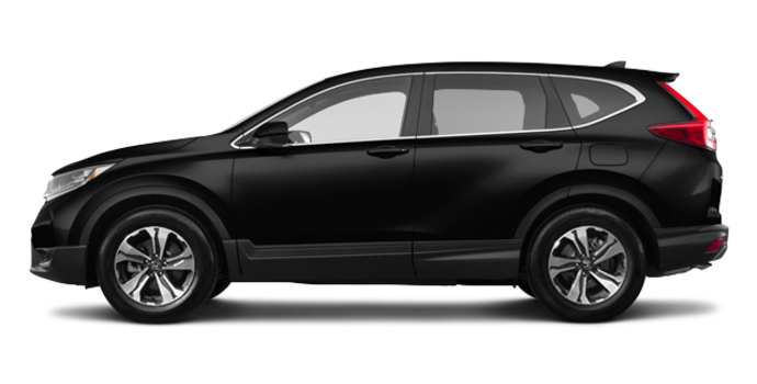 2017 Honda CR-V LX   Photo 4   Crystal Black Pearl