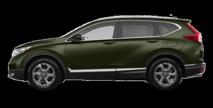 2017 Honda CR-V TOURING | Photo 4 | Dark Olive Metallic