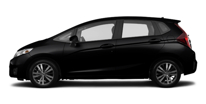 2017 Honda Fit EX-L NAVI   Photo 4   Crystal Black Pearl
