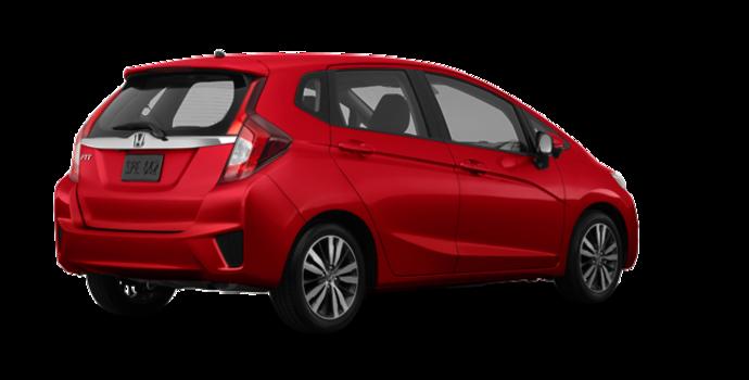 2017 Honda Fit EX-L NAVI   Photo 5   Milano red