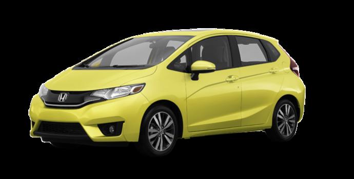 2017 Honda Fit EX-L NAVI   Photo 6   Mystic Yellow Pearl