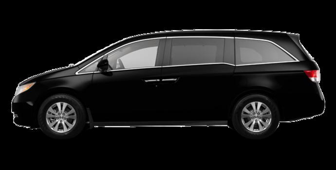 2017 Honda Odyssey EX-L RES | Photo 4 | Crystal Black Pearl