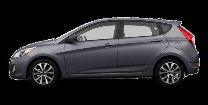 2017 Hyundai Accent 5 Doors SE | Photo 4 | Triathlon Grey