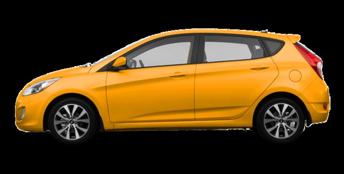 2017 Hyundai Accent 5 Doors SE | Photo 4 | Sunflower Yellow