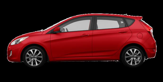 2017 Hyundai Accent 5 Doors SE | Photo 4 | Boston Red