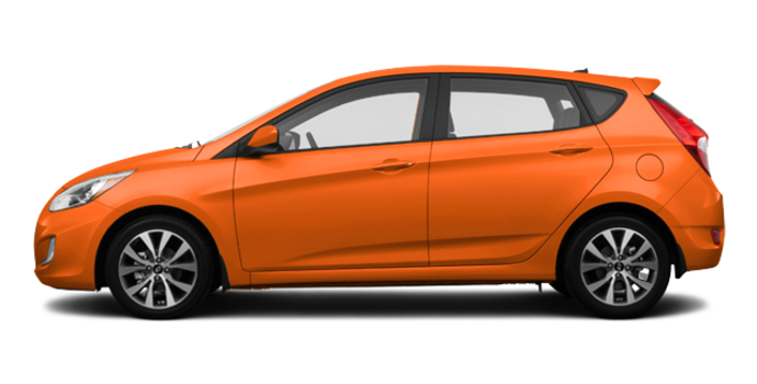 2017 Hyundai Accent 5 Doors SE | Photo 4 | Vitamin C