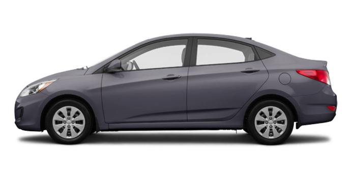2017 Hyundai Accent Sedan LE | Photo 4 | Triathlon Grey