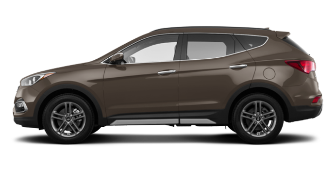 2017 Hyundai Santa Fe Sport 2.0T LIMITED | Photo 4 | Platinum Graphite