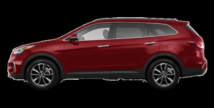 2017 Hyundai Santa Fe XL LUXURY | Photo 4 | Regal Red Pearl