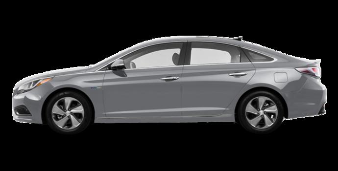 2017 Hyundai Sonata Hybrid LIMITED | Photo 4 | Grey