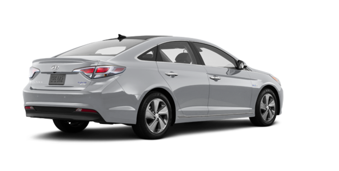 2017 Hyundai Sonata Hybrid LIMITED | Photo 5 | Silver