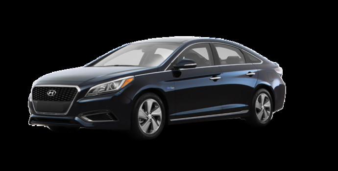 2017 Hyundai Sonata Hybrid LIMITED | Photo 6 | Blue