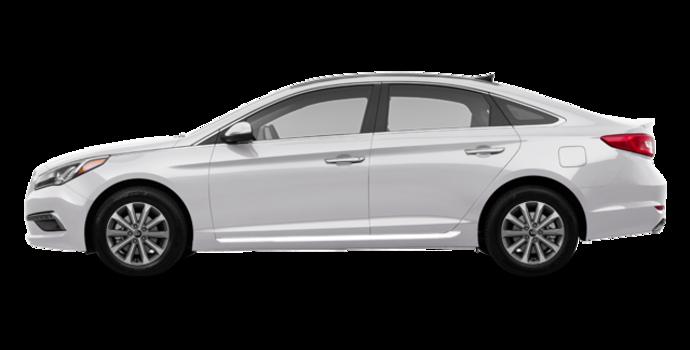 2017 Hyundai Sonata LIMITED | Photo 4 | Ice White