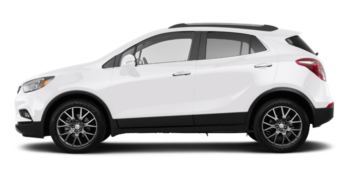 2018 Buick Encore SPORT TOURING | Photo 4 | White frost tricoat