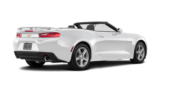 2018 Chevrolet Camaro convertible 2LT   Photo 5   Summit White