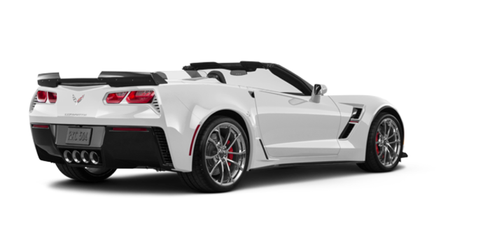 2018 Chevrolet Corvette Convertible Grand Sport 1LT | Photo 5 | Arctic White
