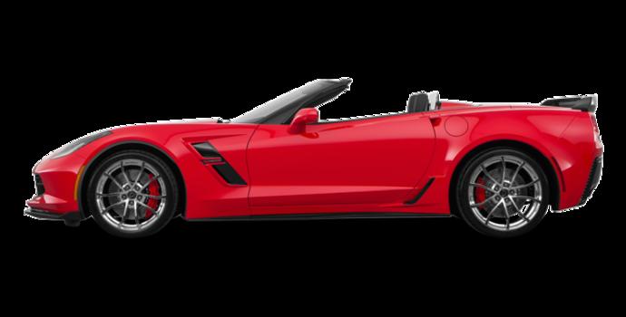 2018 Chevrolet Corvette Convertible Grand Sport 3LT   Photo 4   Torch Red